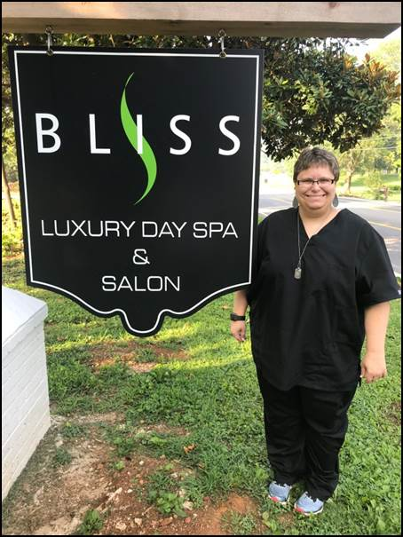 Jessica M., Bliss Luxury Day Spa and Salon